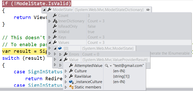 Validations with Model In Asp Net MVC